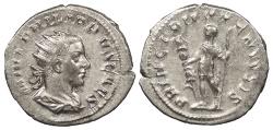 Ancient Coins - Philip II, as Caesar 244-247 A.D. Antoninianus Rome Mint Good VF