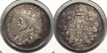 World Coins - CANADA: 1913 10 Cents