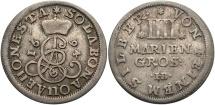 World Coins - GERMAN STATES: Brunswick-Luneburg-Calenberg 1694 4 Groschen