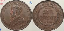 World Coins - AUSTRALIA: 1934 Penny