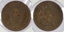 World Coins - PHILIPPINES: 1913-S Centavo