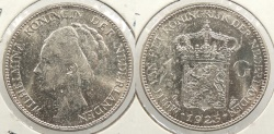 World Coins - NETHERLANDS: 1923 1 Gulden