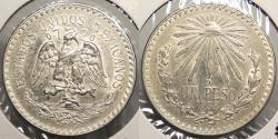 World Coins - MEXICO: 1938-Mo Peso