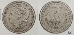 Us Coins - 1900-O Morgan 1 Dollar (Silver) 'O/CC' over-mintmark