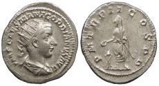 Ancient Coins - Gordian III 238-244 A.D. Antoninianus Rome Mint Near EF