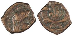 Ancient Coins - Nabataea Rabbel II, with Gamilat 70-106 A.D. Chalkous Good Fine