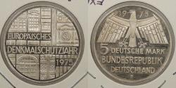World Coins - GERMANY (WEST): 1975-F 5 Mark