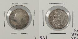 World Coins - GREAT BRITAIN: 1843 Fourpence