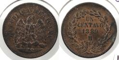 World Coins - MEXICO: 1889-Mo Centavo