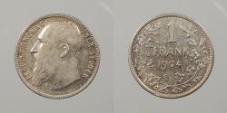 World Coins - BELGIUM: 1904 Flemish legend. Franc