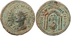 Ancient Coins - Mesopotamia Nisibis Philip II, as Caesar 244-247 A.D. AE26 VF