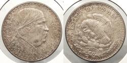 World Coins - MEXICO: 1947-Mo Peso