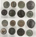 Ancient Coins - Lot of eight Roman Imperial AE