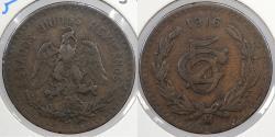World Coins - MEXICO: 1916 5 Centavos