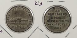 World Coins - GERMAN STATES: 1823 Mannheim. 20mm medal