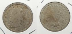 Us Coins - 1912-S Liberty Head 5 Cent (Nickel)