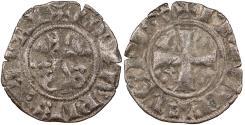 World Coins - FRANCE Philip IV 'le Bel' 1285-1314 Double Tournois VF