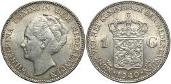 World Coins - NETHERLANDS: 1940 1 Gulden