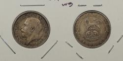 World Coins - GREAT BRITAIN: 1917 George V Sixpence