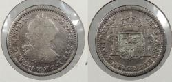 World Coins - MEXICO: 1772-Mo FM Charles III Real