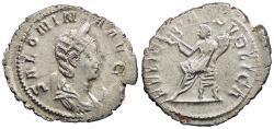 Ancient Coins - Salonina, wife of Gallienus 253-268 A.D. Antoninianus Lugdunum (Lyons) Mint EF