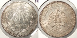 World Coins - MEXICO: 1932-M Peso