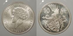World Coins - LUXEMBOURG: 1929 10 Francs