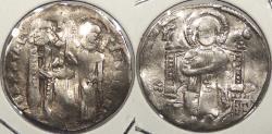 World Coins - ITALIAN STATES: Venice ND (1268-1275) Lorenzo Tiepolo Grosso