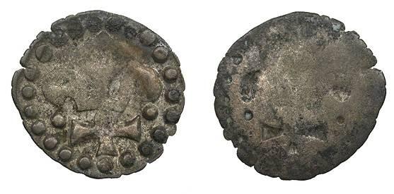 World Coins - FRANCE  Strasbourg Civic Issue Early 16th Century Hohlpfennig (Bracteate Denier)  VF