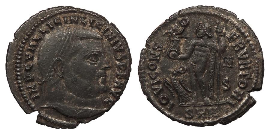 Ancient Coins - Licinius I 308-324 A.D. Follis Nicomedia Mint VF