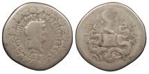 Ancient Coins - Marc Antony and Octavia 39 B.C. Cistophorus Ephesus Mint Fine