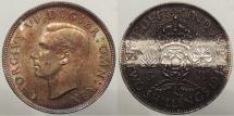 World Coins - GREAT BRITAIN: 1944 Two Shillings (Florin)