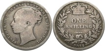 World Coins - GREAT BRITAIN: Victoria 1872 1 Shilling
