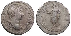 Ancient Coins - Hadrian 117-138 A.D. Cistophoric Tetradrachm Aezani Mint, in Phrygia. Good VF Ex CNG E312:200. Includes ticket.
