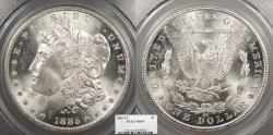 Us Coins - 1885 CC Morgan 1 Dollar (Silver) PCGS MS-64