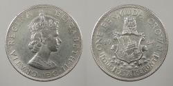 World Coins - BERMUDA: 1964 Crown