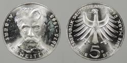 World Coins - GERMANY: West Germany 1975-G 5 Mark