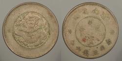 World Coins - CHINA: Yunnan ND (1949) 50 Cents