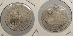 World Coins - BOLIVIA: 1849 Proclamation coin