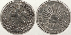 World Coins - MEXICO: 1831-Go MJ/J Real