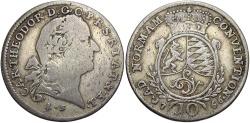World Coins - GERMAN STATES: Pfalz-Sulzbach 1766 10 Kreuzer