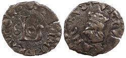 World Coins - ITALIAN STATES Lucca 1560 Quattrino EF