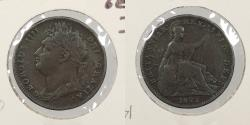 World Coins - GREAT BRITAIN: 1822 Farthing