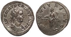 Ancient Coins - Carinus 283-285 A.D. Antoninianus Lugdunum Mint EF