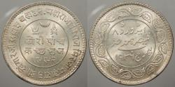 World Coins - INDIA: Kutch VS 1992 (1936) 5 Kori