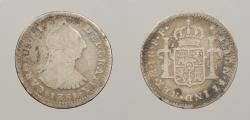 World Coins - MEXICO: 1781-Mo FF Real