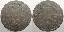 World Coins - BRAZIL: 1818-R Mintage 687,000 40 Reis