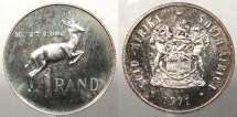 SOUTH AFRICA: 1971 Proof - Mintage 10,000 Rand