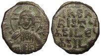 Ancient Coins - Anonymous, Time of John I Tsimisces Circa 969-978 A.D. Follis Constantinople Mint VF