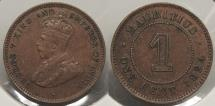 World Coins - MAURITIUS: 1924 Cent